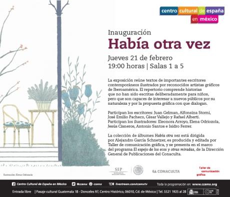 Inauguración de la expo de 'Había otra vez'