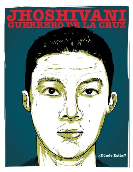 """""""Yo, Alex Herrerías, quiero saber dónde está Jhoshivani Guerrero de la Cruz""""."""