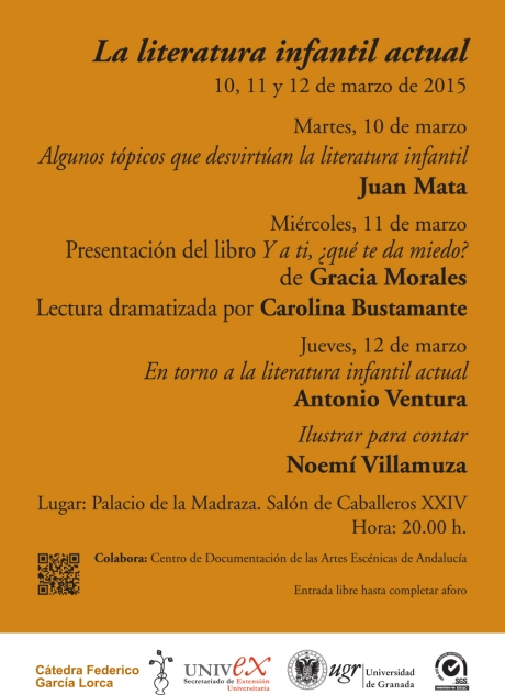 Cartel Garcu00EDa Lorca (La literatura infantil actual) tr