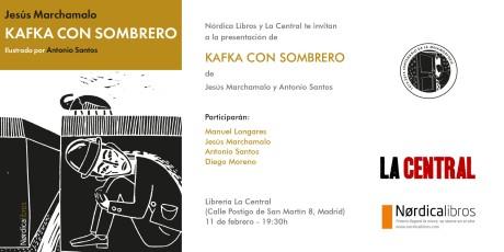 KAFKA CON SOMBRERO LA CENTRAL