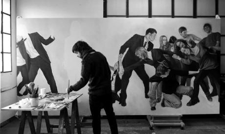 pintando-en-el-estudio-de-Bilbao-BN