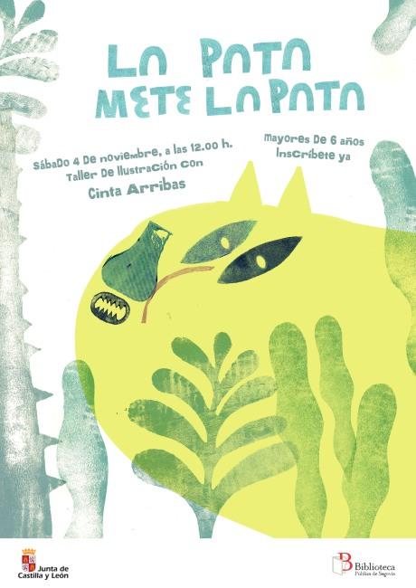 cartel La pata mete la pata